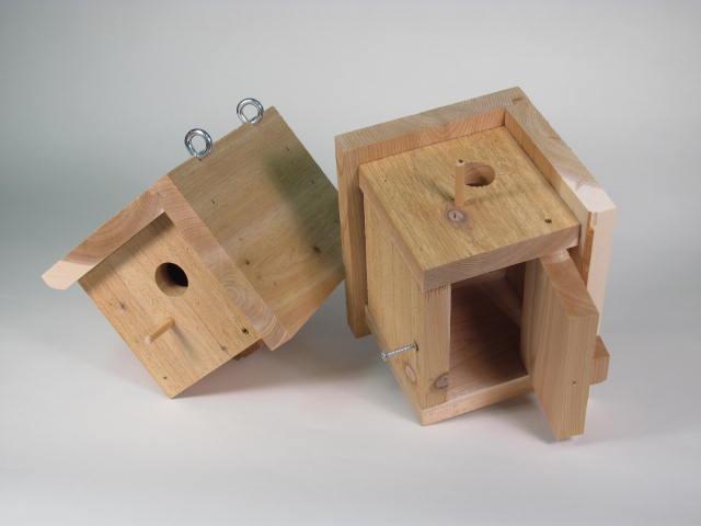 Chickadee Bird House