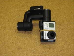 GB200 Gimbal with GoPro Camera