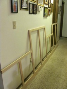 Upper Face Frame Storage