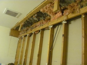 Insulation mess