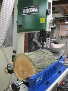 Log Mill First Cut