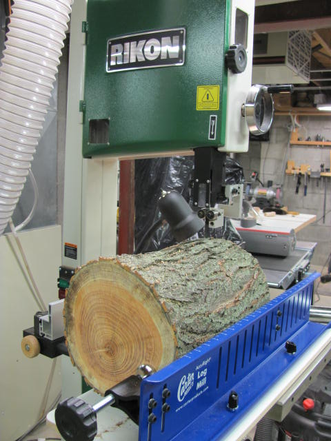 Log Mill First Cut