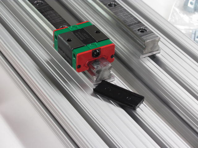 Linear Bearing Mounting