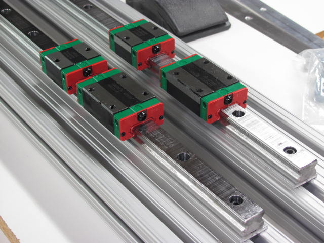Linear Bearing Positioning