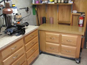 Bench for Lathe